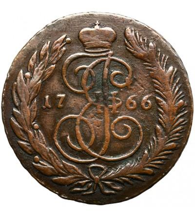 Rosja 5 kopiejek 1766 CM, Sestroretsk
