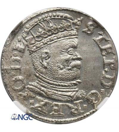 Polska. Trojak (3 grosze) 1586, Ryga - NGC MS 63