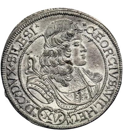 Silesia. 15 Kreuzer 1675, Brzeg (Brieg)