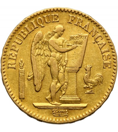 Francja 20 franków 1849 A
