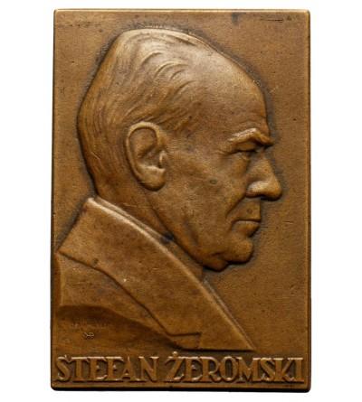 Plakieta Mennicy Państwowej, Stefan Żeromski 1926