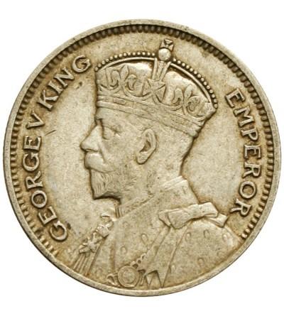Nowa Zelandia 6 pensów 1935