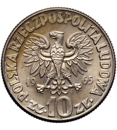 Polska 10 złotych 1965, Mikołaj Kopernik
