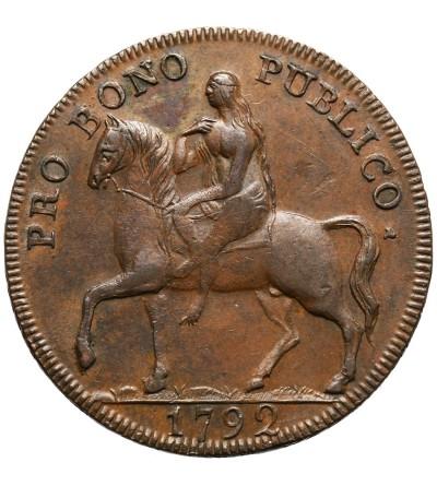 Wielka Brytania, (Conder) Warwickshire, Coventry Halfpenny 1792, Token