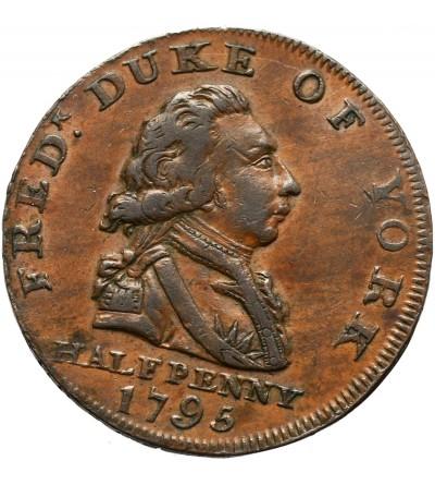 Wielka Brytania, Middlesex Duke of York Halfpenny 1795, Token