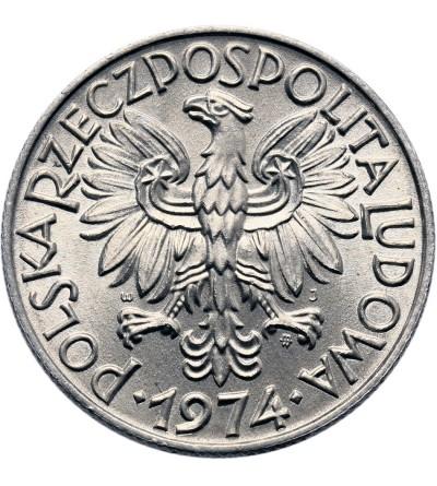 Polska 5 złotych 1974, rybak