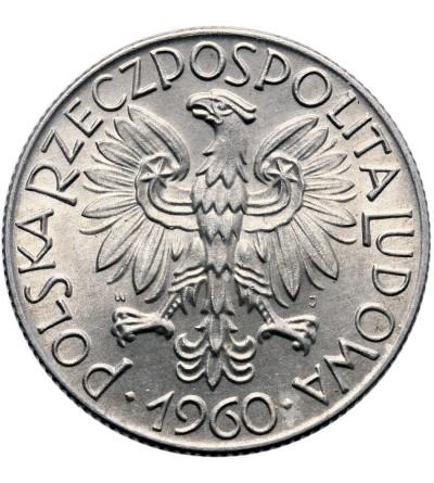 Polska 5 złotych 1960, rybak