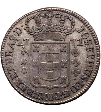 Brazylia 640 Reis 1771, Lizbona