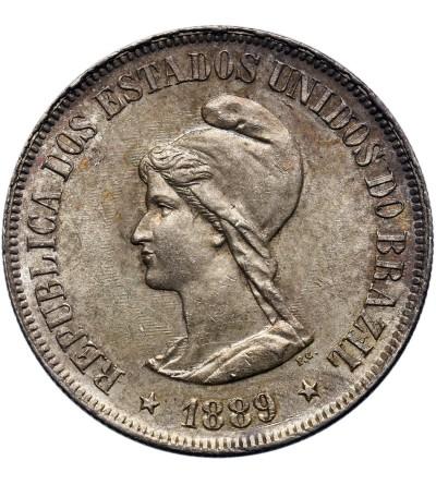 Brazylia 500 Reis 1889