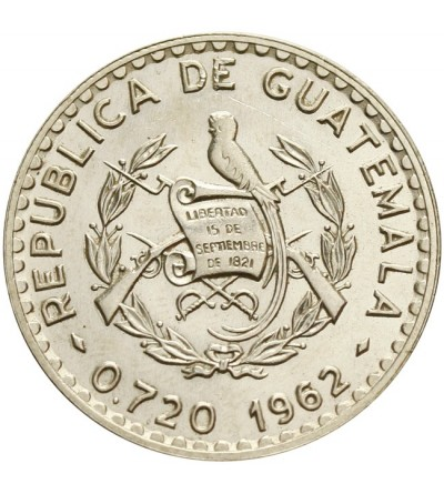 Gwatemala 50 centavos 1962