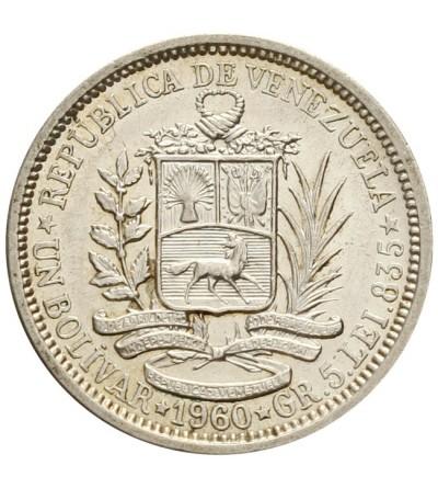 Wenezuela 1 bolivar 1960