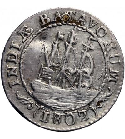 Wschodnie Indie Holenderskie 1/8 guldena 1802, Republika Batawska