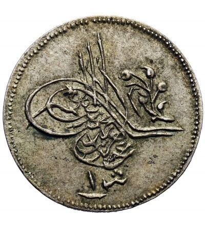 Egipt 1 Qirsh AH 1277 rok 12 / 1871 AD, Abdul Aziz