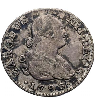 Hiszpania 1 Reala 1793 MF, Madryt
