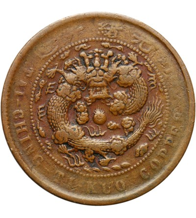 Chiny Kiangnan 10 cash 1906