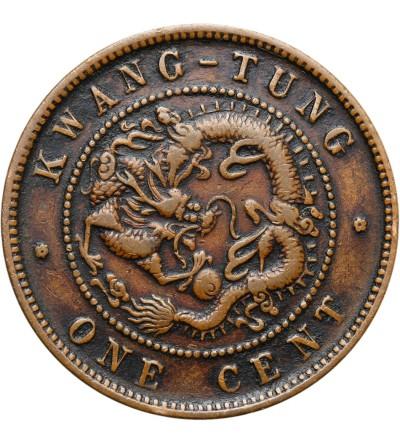 China Kwangtung Cent ND (1900-1906)