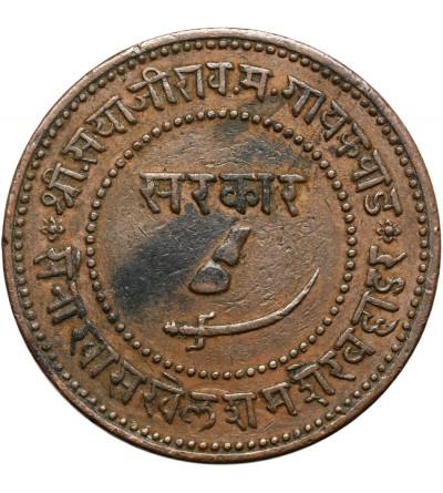 Indie - Baroda 2 Paisa VS 1946 / 1889 AD