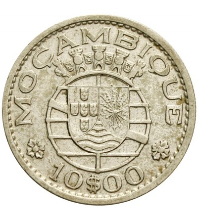 Mozambik 10 escudos 1954