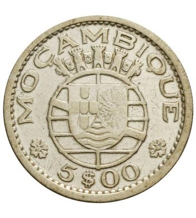 Mozambik 5 escudos 1960