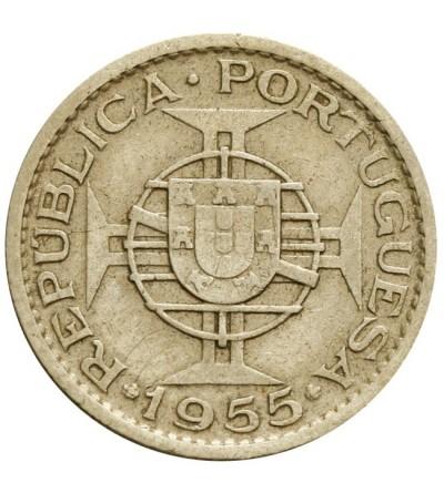 Mozambik 10 escudos 1955