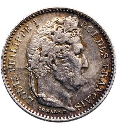 Francja 25 Centimes 1846 A, Paryż