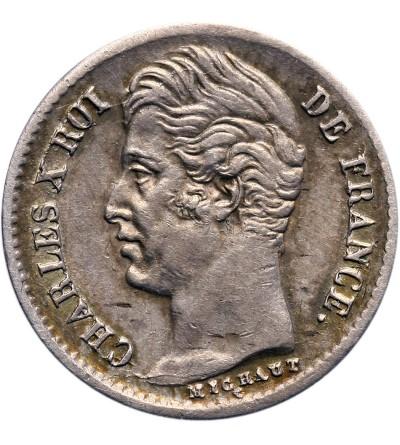 Francja 1/4 franka 1829 W, Lille