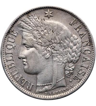 Francja 5 franków 1851 A