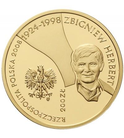 200 złotych 2008, Zbigniew Herbert