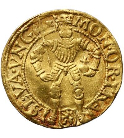 Niderlandy dukat (Gouden Dukaat) bez daty (1590-1593), Overijssel, typ węgierski