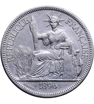 Indochiny Francuskie 1 Piastre 1896 A