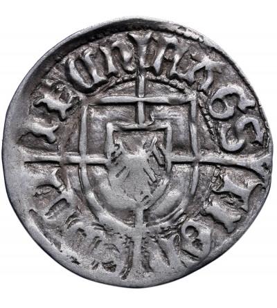 Zakon Krzyżacki, Jan von Tiefen 1489-1497. Grosz bez daty, Królewiec