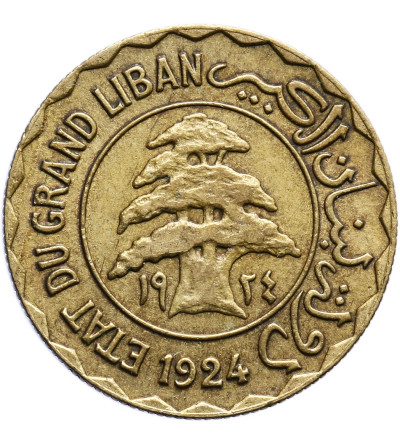 Liban 2 piastry 1924