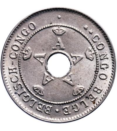 Kongo Belgijskie 10 Centimes 1921