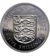 Jersey 5 Shilling 1966 - Proof