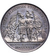 Russia. Nicholas I 1825-1855, Silver medal by L. Held struck on the occasion of Russian-Prussian maneuvers in Kalisz in 183
