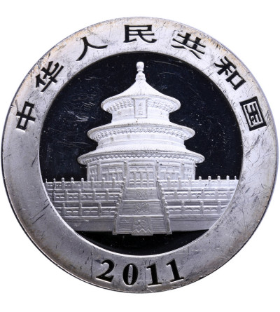 Chiny 10 Yuan 2011, Panda