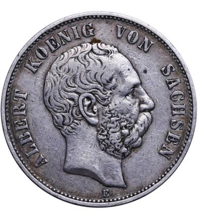 Saksonia 5 marek 1898 E
