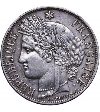 Francja 5 franków 1870 A, Trzecia Republika
