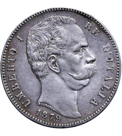 Włochy 5 Lire 1879 R, Umberto I