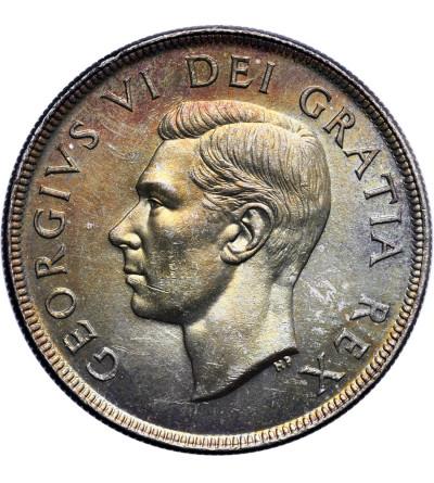 Kanada 1 dolar 1952, Jerzy VI