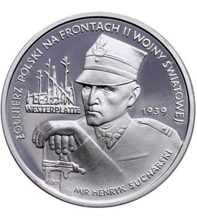 Polska 5000 złotych 1989, Westerplatte mjr Henryk Sucharski