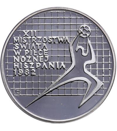 Polska 200 złotych 1982, XII Mistrzostwa w piłce nożnej - Hiszpania 1982