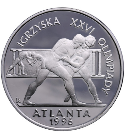 Poland 20 Zlotych 1995, Olimpic XXVI Atlanta 1996