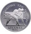 Polska 20 złotych 1995, Igrzyska XXVI Olimpiady Atlanta 1996