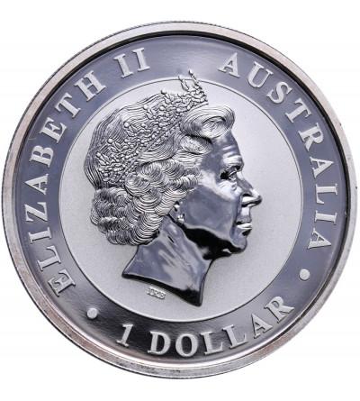 Australia 1 dolar 2013 P, Kookaburra - prywatna emisja F15