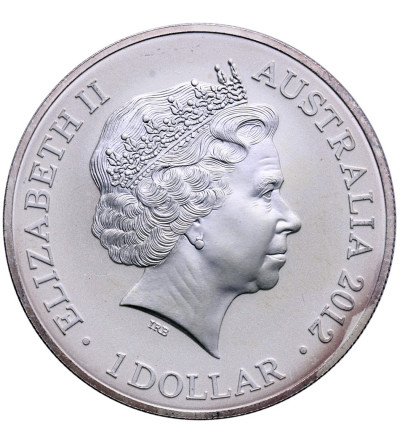 Australia 1 dolar 2012, kangur - prywatna emisja F15