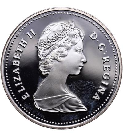 Kanada 1 dolar 1981, kolej transkontynentalna - Proof