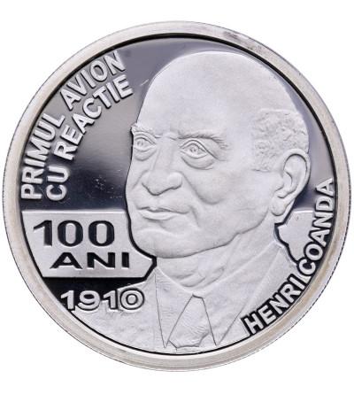 Rumunia 10 Lei 2010, Henri Coanda - Proof