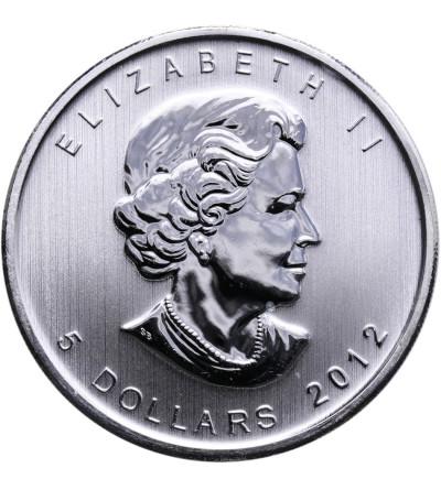 Kanada 5 dolarów 2012 - puma