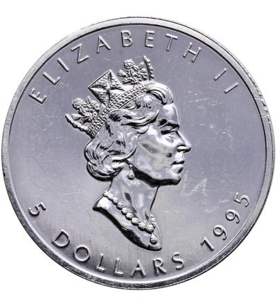Kanada 5 dolarów 1995, Liść Klonowy